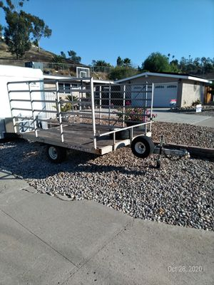 Trailer aluminum 6.5x8.5 for Sale in Poway, CA