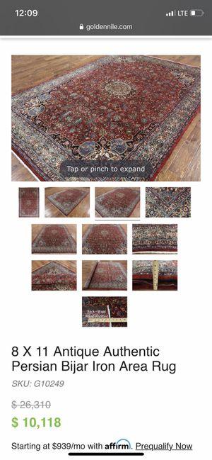 Vintage rug. Beautiful for Sale in Yorktown, VA