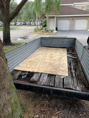 Homemade 5x10 Trailer for Sale in Plantation, FL
