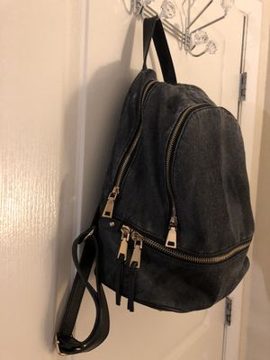 Black Denim Backpack Purse for Sale in Tampa, FL