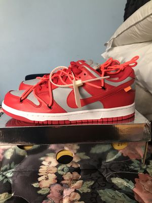 Off white Nike sb dunk sz 12 DS for Sale in Silver Spring, MD