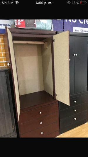 Compressed wood wardrobe for Sale in Los Angeles, CA