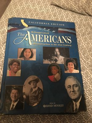 The Americans History text book for Sale in Norwalk, CA