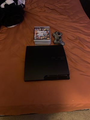 PS3 with control and games for Sale in Phoenix, AZ