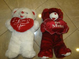 (5) Plush Stuffed Teddy Bears for Sale for Sale in North Las Vegas, NV