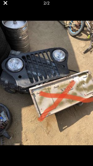 Jeep willys grille tailgate for Sale in Las Vegas, NV
