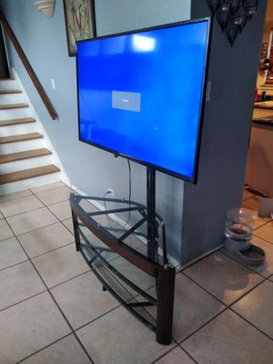 Sceptre 55inch with tv stand for Sale in San Antonio, TX