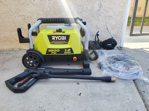 RYOBI 1900 PSI 1.2 GPM Cold Water Wheeled Electric Pressure Washer for Sale in Westminster, CA