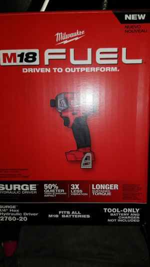 Milwaukee 1/4 Hex Hydraulic driver for Sale in Glendale, AZ