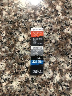 Micro sd card 32gb mixed brands for Sale in Chula Vista, CA