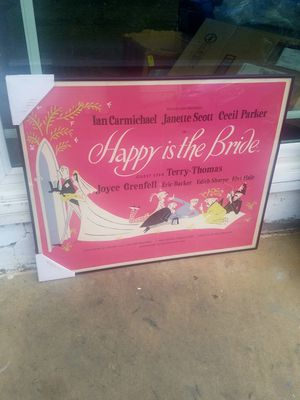 Happy is the Bride Framed Art for Sale in Fairfax, VA