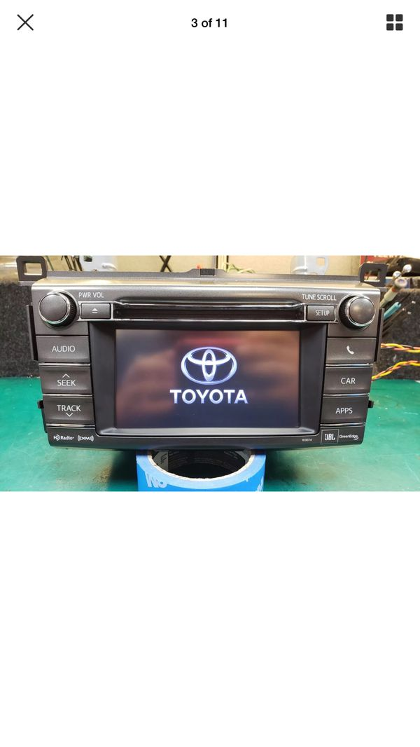 Oem Toyota RAV4 Radio 2013 to 2015