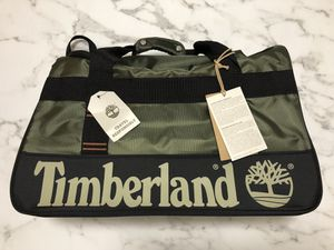 """Timberland 22"""" Duffle Travel Bag Green Orange Black New with Tags 3631C45 TD JAY Peak Trail Grape Leaf for Sale in Kissimmee, FL"""