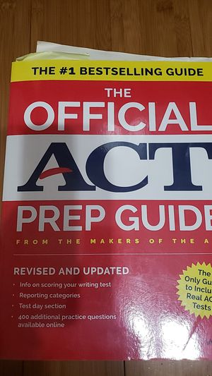 The Official ACT Prep Guide Wiley for Sale in Ontario, CA