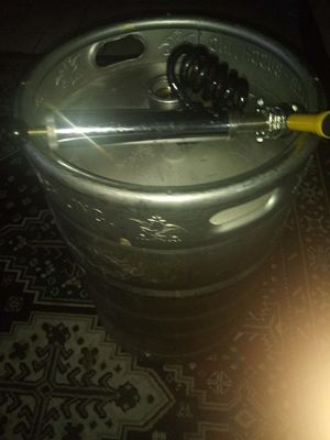 Empty keg and tap. Best offer for Sale in Joliet, IL