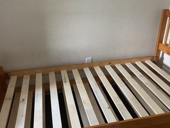 Solid Wood Trundle Bed Twin Size for Sale in Tampa,  FL