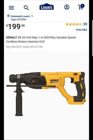 Dewalt sds hammer drill for Sale in HUNTINGTN STA, NY