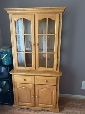 Wood hutch for Sale in North Haven, CT
