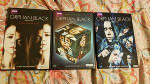 Orphan Black 1-3 for Sale in Tucson, AZ