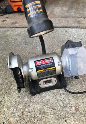 Craftsman bench grinder for Sale in Silver Spring, MD