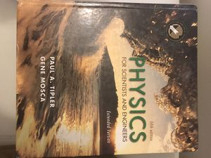 Book physics for scientists and engineers (fifth edition) for Sale in Burke, VA