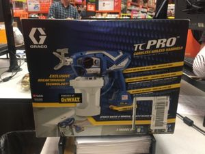 Paint sprayer dewalt tc pro for Sale in Houston, TX