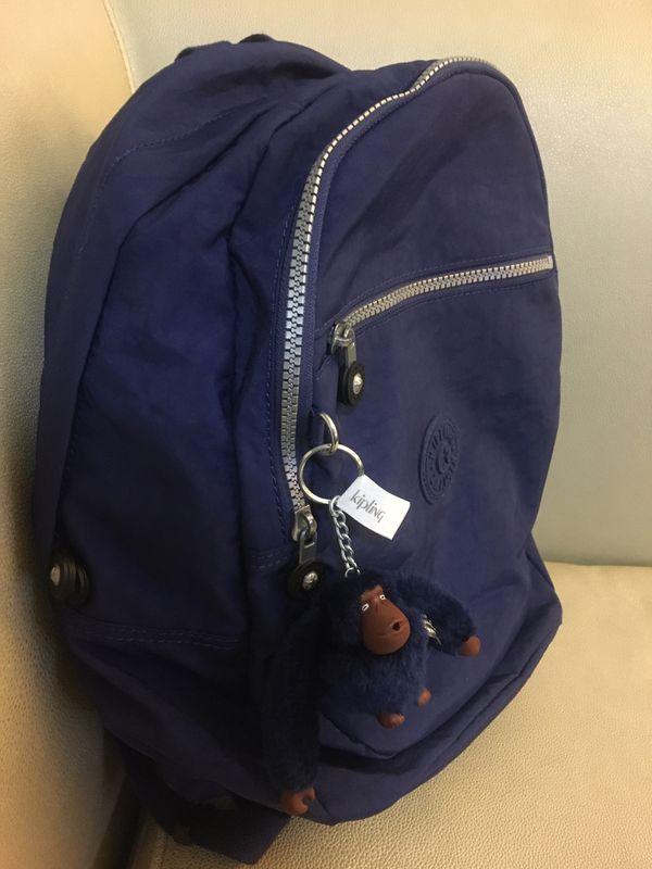 Kipling dark blue backpack