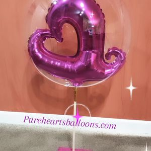 Bubble Balloon For Valentine's Day 💕 ❤ for Sale in Fort Lauderdale, FL