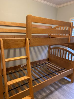 Solid Wood Bunk Bed for Sale in Goose Creek, SC