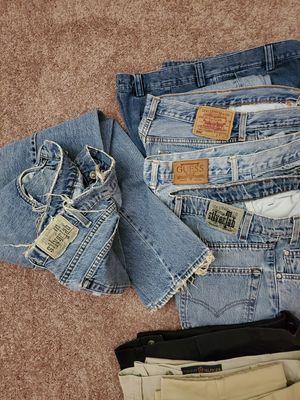 Men's jeans, shorts, slacks for Sale in Fairfax, VA