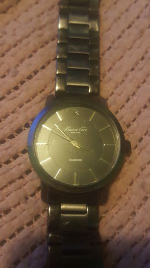 Kenneth Cole Diamond stainless steel for Sale in Elk Run Heights, IA