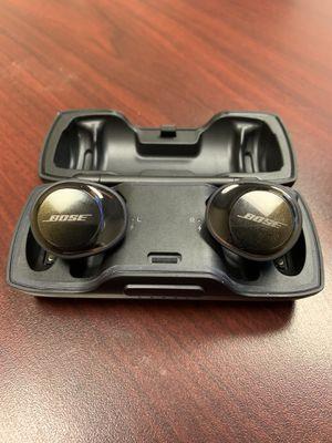 Like new black Bose soundsport free true wireless headphones for Sale in Gilbert, AZ