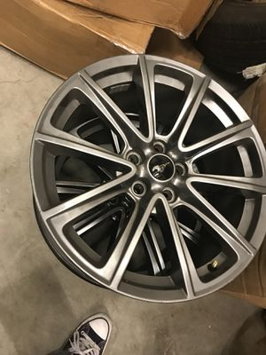 2015 mustang gt rims 5.0 for Sale in Los Angeles, CA