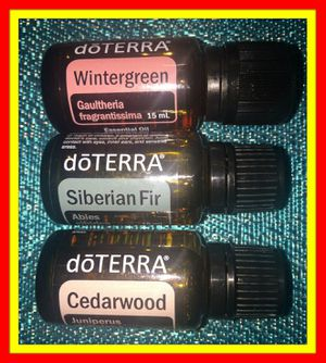 3 DoTERRA fragrance essential oils for Sale in Austin, TX