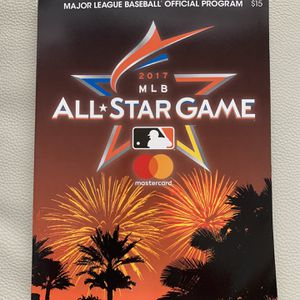 2017 MLB ALL STAR GAME PROGRAM Miami Marlins for Sale in Fort Lauderdale, FL