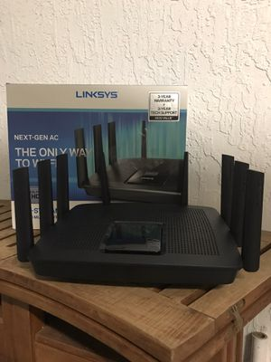 Linksys EA9500 Max Stream Wireless Router for Sale in Plantation, FL