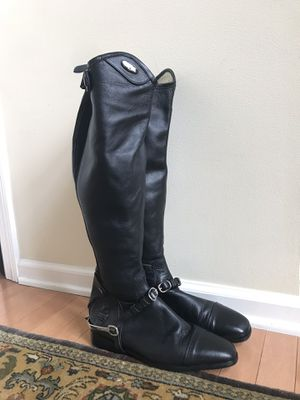 Wellesley TuffRider Dress Women's Riding Boot SZ 10 Regular *w spurs/strap/bag* for Sale in East Liberty, PA
