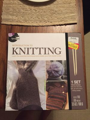 Introduction to Knitting for Sale in Salinas, CA