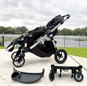 Single ➡️ Double stroller ➕ optional Car seat for Sale in Orlando, FL