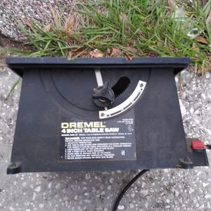 DREMEL 4 INCH TABLE SAW MODEL 580-2 for Sale in Tampa, FL