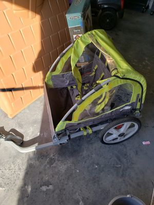 Instep sierra double bike trailer, still with the box. Barely used. for Sale in Orlando, FL