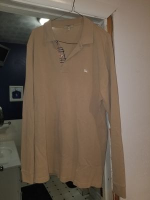 Mens real Burberry shirt size large for Sale in Newburgh Heights, OH