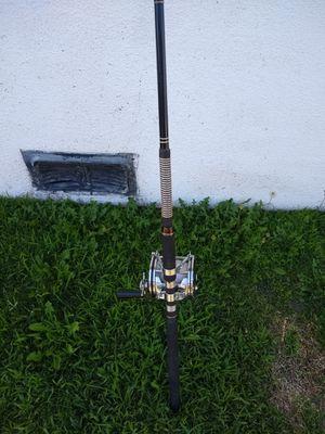Fishing Rod With Penn Senator 9/0 Fishing Reel USA for Sale in Anaheim, CA
