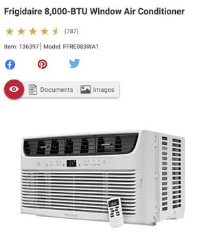 Frigidaire 8000 btu air conditioner brand new for Sale in Fort Lee, NJ