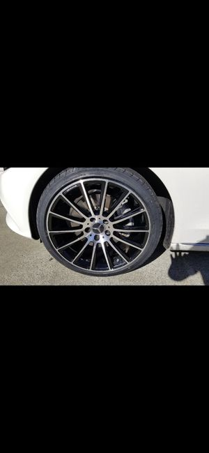 """Mercedes 19"""" new multispoke amg style new rims tires set for Sale in Hayward, CA"""