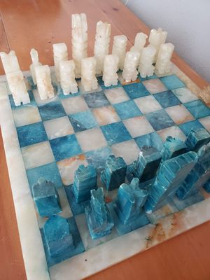 Marble chess set for Sale in Kyle, TX