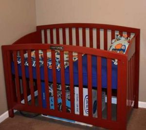 Custom crib and changing table for Sale in Lincoln Park, MI