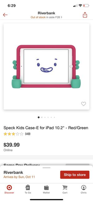 iPad case for kids for Sale in Riverbank, CA