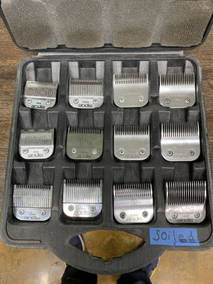 Full set of Andis detachable blades. With Carrying case OBO for Sale in San Diego, CA