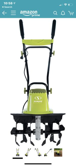 Sun Joe TJ603E 16-Inch 12-Amp Electric Tiller and Cultivator for Sale in Upland, CA